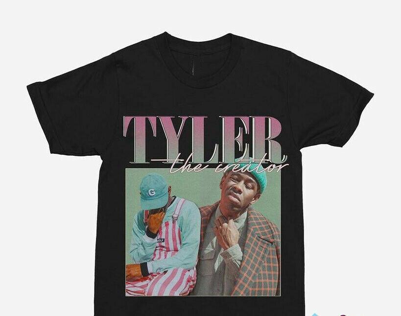 Tyler The Creator 90S Christmas T-Shirt Black Men S-234Xl L914