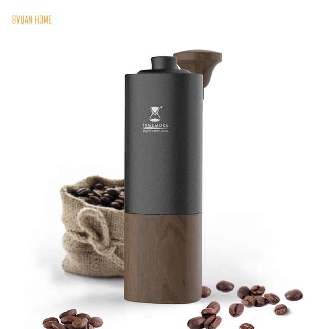 1 PC Timemore G1 MYY47 Aerolite portable steel grinding core High quality handle design super manual coffee mill Dulex bearing