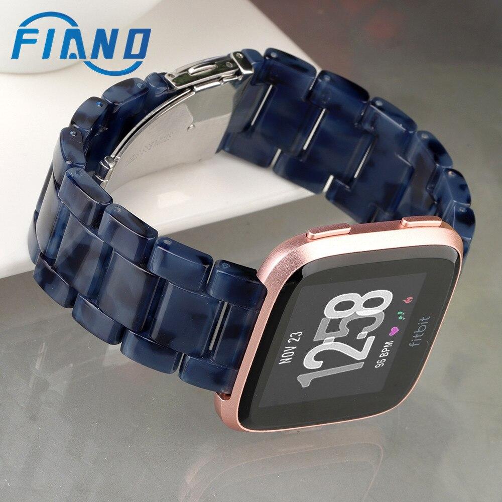 Resin Watcband Strap For Fitbit Watch Fitbit Versa/Versa Bracelet For Fitbit Edition/Versa  Ceramic Clock Belt Accessoreis