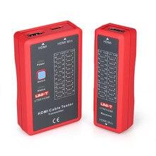 UNI- T HDMIs Filo Tester mini Cavo Cavi di Prova Tester di Controllare Lo Stato di Disordine Breve Aperto e Quadrivio
