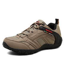 купить Hot Sale Big Size 46 Hiking Shoes Men Senderismo Low cut Fashion Outdoor Camping Sneakers Breathable Non-slip Men Trekking Shoes дешево