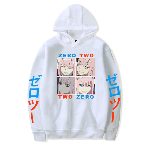 DARLING IN THE FRANXX THEMED HOODIE
