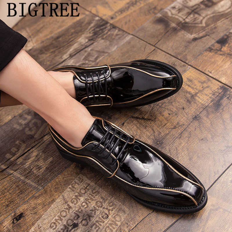 Мужские туфли-оксфорды; coiffeur; свадебные туфли; мужские деловые туфли из лакированной кожи; Роскошное дизайнерское вечернее платье; вечерние туфли для мужчин; ayakkabi