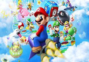 Image 3 - Gfuitrr Cartoon Game Karakter Super Marios Fotografie Achtergronden Kids Verjaardagsfeestje Foto Achtergrond Vinyl Foto Studio Props