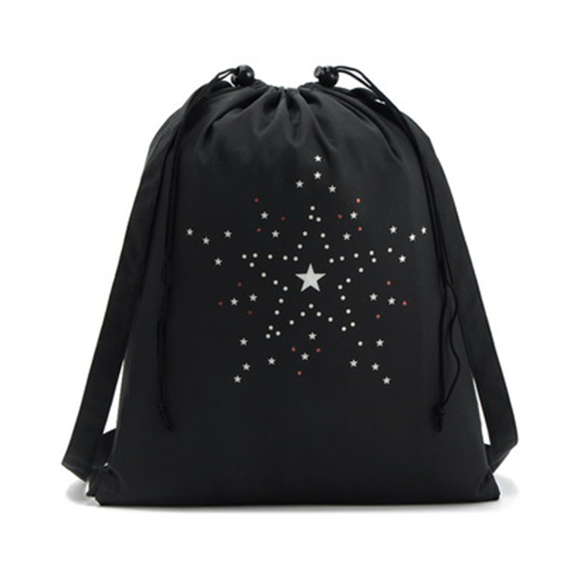 Drawstring Backpack Bag Sackpack Portable Waterproof For Outdoor Sports Travel Best Sale-WT
