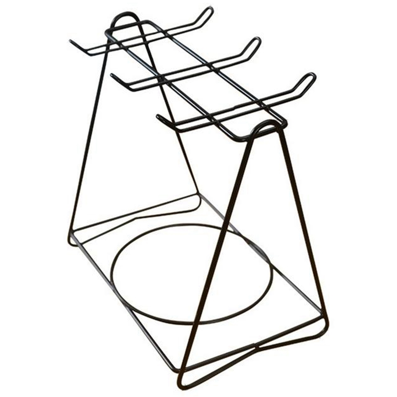 Soporte de taza de café de acero inoxidable soporte de copa de partición colgante estante de almacenamiento innovador soporte de taza de hierro para encimera de cocina