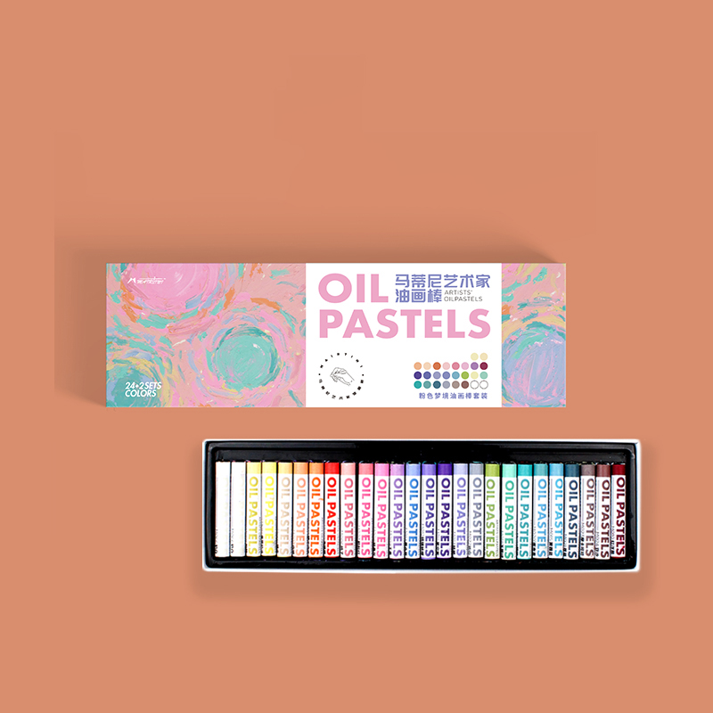 Professional Painting Oil Pastel Graffiti Soft Pastel  Artist Painting Pen Student School Stationery Crayon Set Art Supplies