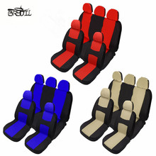 Universal Front Rear Car Seat Covers 4 Seasons 3 Colors Auto Chair Covers Seat Cushion Protector Car Interior Accessories universal auto car seat cover auto front rear chair covers seat cushion protector car interior accessories 3 colors