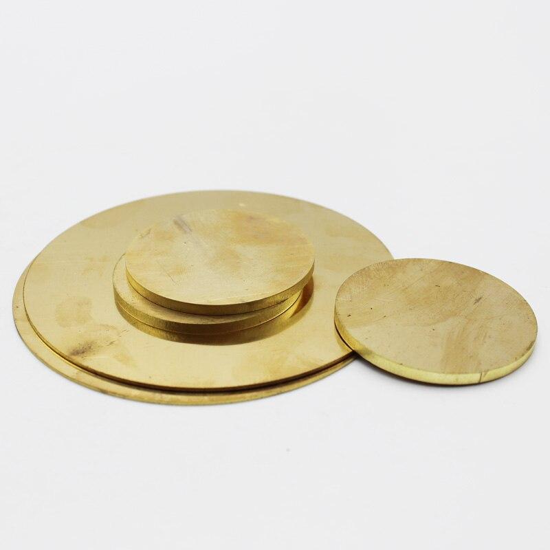 Brass Sheet Round