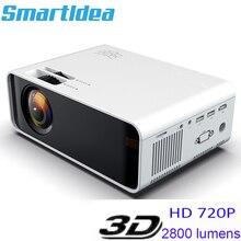 Miniproyector LED Smartldea Native HD para cine en casa, ac3, Dolby, para películas, videojuegos, Android, WiFi, 1280x720P