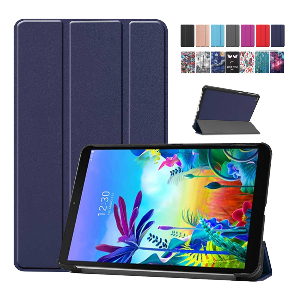 """Case For LG G Pad 5 10.1 FHD LM-T600L Print PU Leather Flip Stand Cover Funda Shell Shock Proof Tablet Case For LG GPad 5 10.1"""""""
