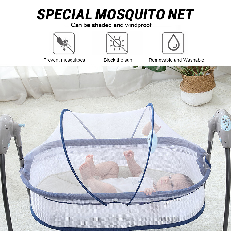 H60329aa0ccd946ea8c08b02349acdb866 Bluetooth Control Swing Baby Rocking Chair Electric Baby Cradle Remote Control Cradle Rocking Chair For Newborns Swing Chair