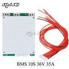 18650 배터리 밸런스 보드 BMS 10S 36V 35A 리튬 충전 보호 PCB PCM Ebike 전기 스쿠터 자전거, 전기 스쿠터, Ebike, Ebike