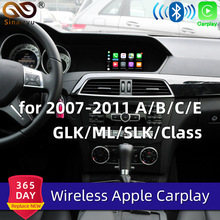 Sinairyu Draadloze Apple Carplay Voor Mercedes NTG4.0 Een B C E Glk Gla Ml Slk Klasse 2007-2011 Benz auto Play Android Auto/Mirroring
