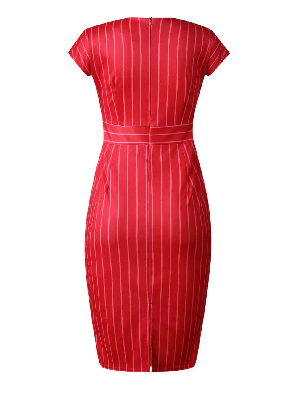 2019 nuevo verano elegante moda estilo africano mujeres de talla grande cuello pico vestido de rodilla