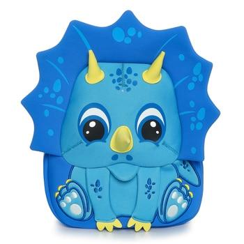 Cocomilo kids bag 3-5 years Cartoon Animal pattern Children Backpacks Dinosaur kindergarten Schoolbag Unicorn - discount item  48% OFF School Bags