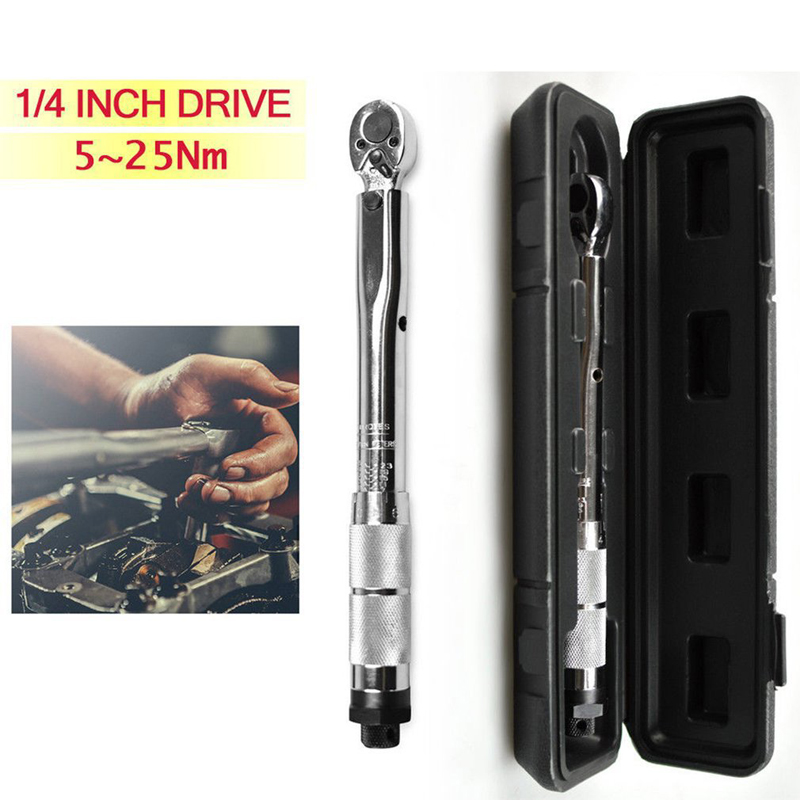 1 4 3 8 1 2 The Adjustable Torque Wrench Drive 5 210 Nm Two - Way To Accurately Mechanism Wrench Hand Tool For Motorcycle