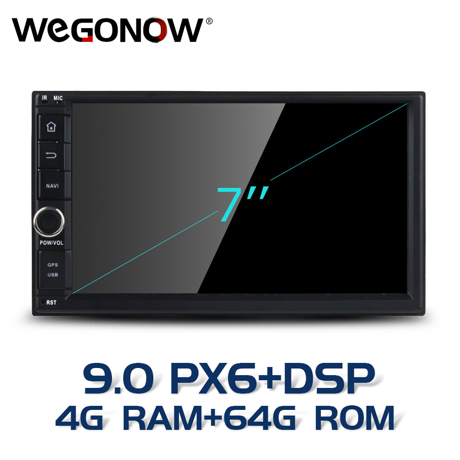 PX6 2Din TDA7851 Android 9.0 For universal <font><b>Car</b></font> multimedia Player 4GB RAM 64GB 8 Core GPS map <font><b>RDS</b></font> <font><b>Radio</b></font> USB SD wifi Bluetooth5.0 image