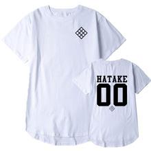 Hatake naruto verão harajuku camiseta masculina casual impressão camisetas de algodão o pescoço hip hop t camisas impressão streetwear