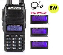 2020 cb radio ausrüstung polizei scanner 8W Baofeng Uv 82 PLUS UV82 Ham Radio Station transceiver uhf vhf Radio Walkie talkie 10km