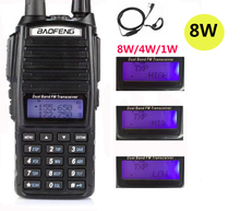 2020 cb radio equipment police scanner 8W Baofeng Uv 82 PLUS UV82 Ham Radio Station transceiver uhf vhf Radio Walkie Talkie 10km