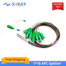 1x16 SM SC APC PLC Fiber Splitter pigtail optic splitter(China)