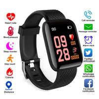 Relógios inteligentes ip67 à prova dip67 água pressão arterial monitor de freqüência cardíaca relógio esporte smartwatch para android ios apple telefone masculino feminino miúdo