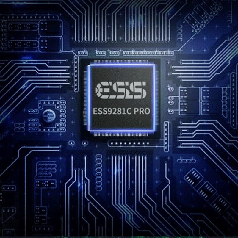 Hilidac Audirect Atom Pro MQA ESS9218C Pro amplificateur casque Portable sans perte amplificateur USB DAC TYPE-C/foudre PCM 32Bit/384kHz - 4