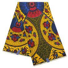 prints 100% cotton high quality 6yards ankara wax fabric prints wax blolck batik prints pure cotton LBL-146