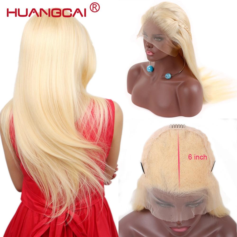13x6 frente do laço perucas de cabelo humano brasileiro em linha reta 613 loira peruca frontal do laço pré arrancado mel loira peruca do laço remy cabelo 26 Polegada