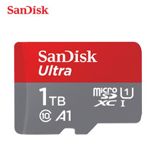 Sandisk 1 TO Carte Mémoire 16GB 32gb 64GB 128 GO 200 GO 256 GO 400GB Micro carte sd Class10 UHS-1 flash carte Mémoire Microsd Carte TF/SD