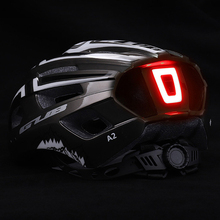 Bicycle Helmet Led-Light Mountain-Road-Bike Sport-Safe Rechargeable Intergrally-Molded