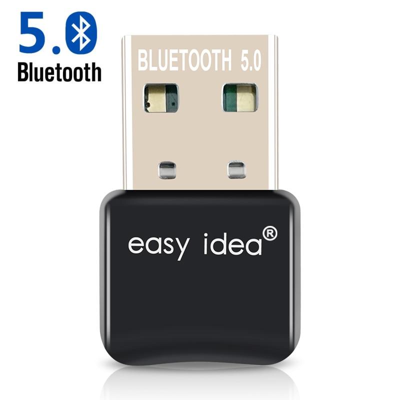 EASYIDEA Wireless USB Bluetooth Adapter 4.0 Mini Bluetooth Dongle CSR 4.0 Bluetooth Transmitter 3Mbps 20M Windows 10/8/7/XP