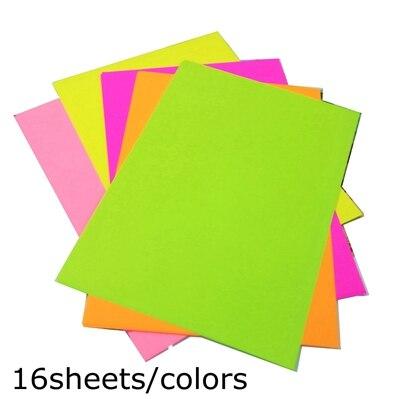 A4 цветная оберточная бумага копировальная бумага для печати 80 г Детский Цветной Материал оригами Бумага ручной работы картонная посылка - Цвет: 80 sheets A4