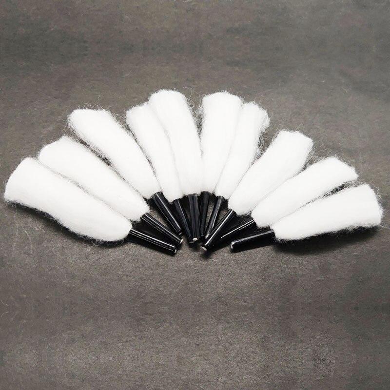10pcs/bag Cotton Wick 6mm Diameter Dry Burning Vaping Mesh Core Cotton Fit Profile Mesh RDA Vape Tank Vaper
