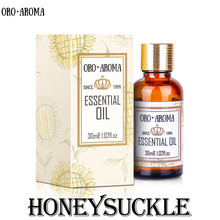 Famous brand oroaroma free shipping natural Honeysuckle essential oil