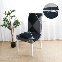 YanYangTian housse de chaise étanche couvertures de banquet pour chaises pour cuisine chaise tendue couvre Spandex couverture de chaise élastique
