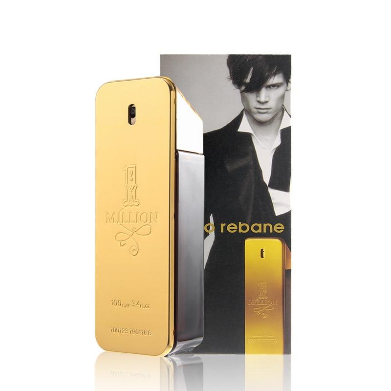 JEANMISS Brand 100ML Men Perfume Original Long Lasting Tempting Woody Leather Notes Fragrance Spray Bottle Parfum Antiperspirant
