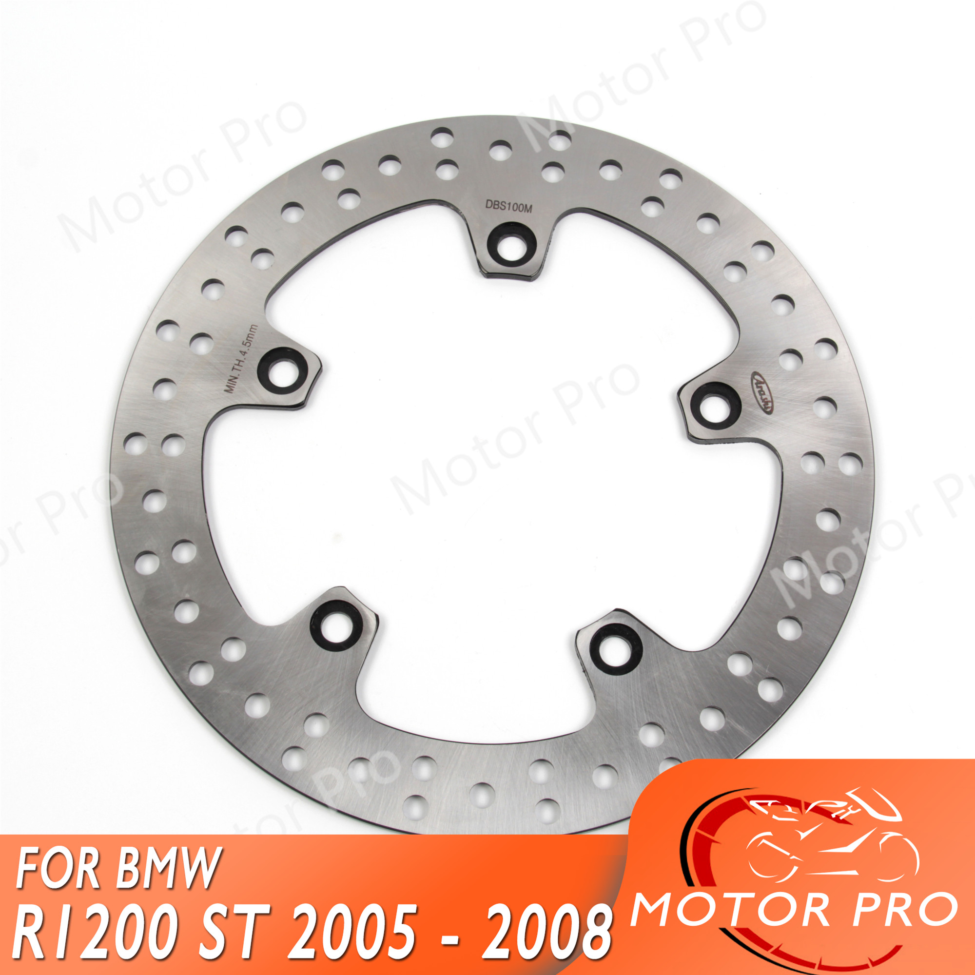 For BMW R1200ST R 1200 ST 2005   2008 Rear Brake Disc Disk Rotor Motorcycle R1200S R1200 S 1200S 1200ST R1200GS GS ABS RT F800S-in Brake Disks from Automobiles & Motorcycles    1