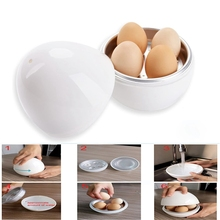 Cooker Egg-Pod-Microwave Egg-Steamer Detaches The-Shell Perfectly-Cooks-Eggs And
