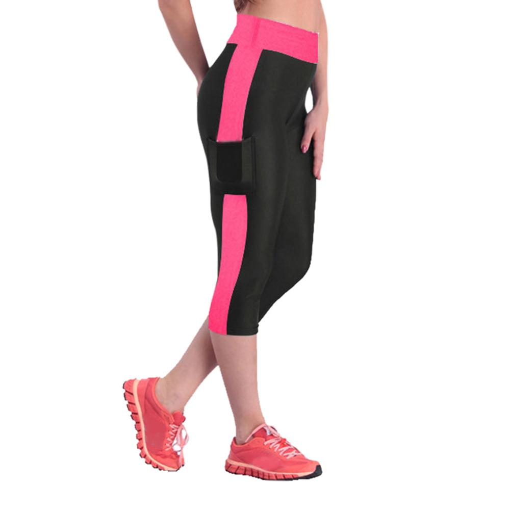 Leggings Women High Waist Side Pockets Workout Fitness Leggings Capris Leggings Sweatpants Clothes Trouser AD