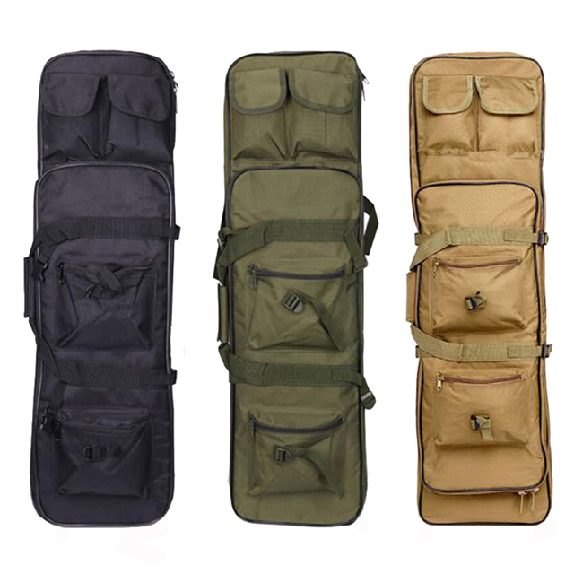 Tactical Gun Bag Military Equipment Shooting Hunting Bag 81/94/115CM Outdoor Airsoft Rifle Case Gun Carry Protection Backpack 3