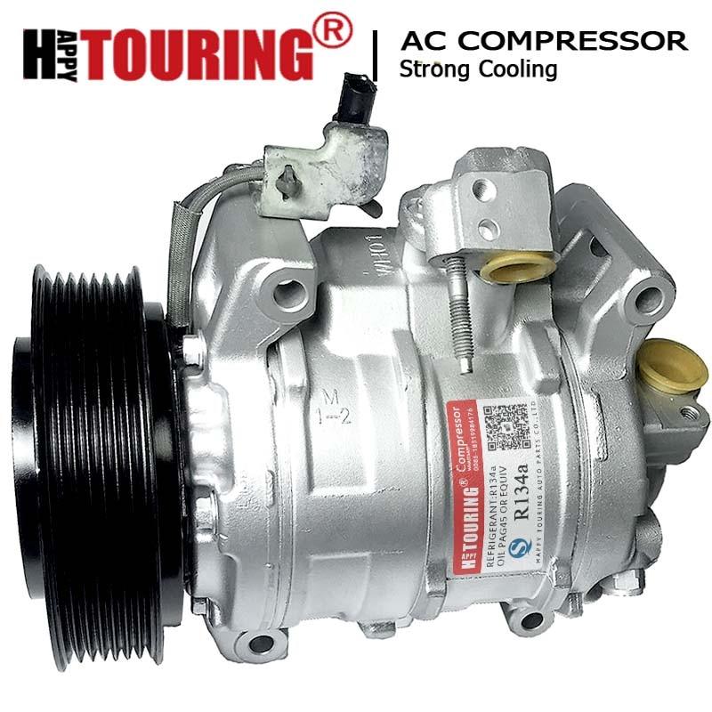 A//C Compressor Kit Fits Honda Accord 1992-1993 2.2L L4 OEM 10PA17C 67300