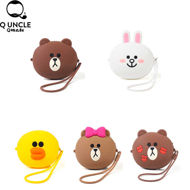 Cute Cartoon Decorative Silicone Bag for Airpods Headphones Waterproof Box Protective Cover Bluetooth Earphone Case Gifts