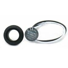 4 шт. 3/4 мини круглые белые светодиоды пуля для автомобиля грузовик прицеп боковой габаритный светильник