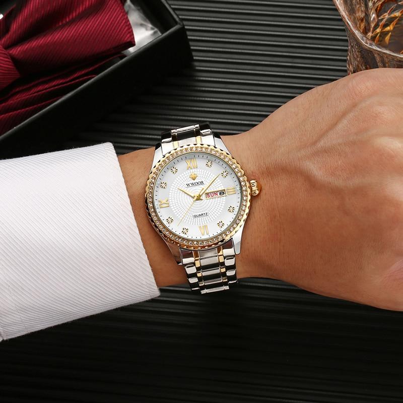 Couple Watch Men and Women Luxury Brand Watches Men's Watches Women's Clothings Women's Dresses