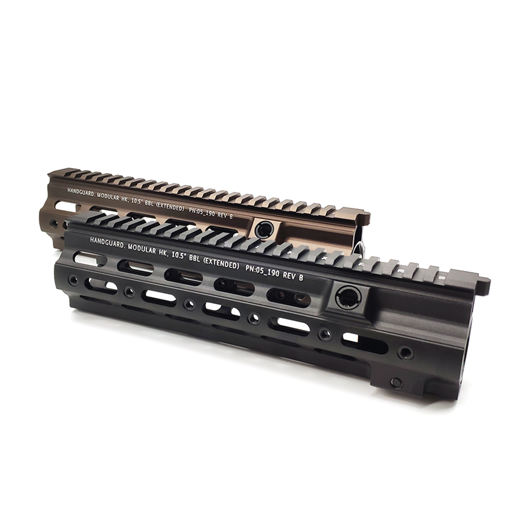 High Quality Handgurad For HK416 14.5 Inch M-LOK Handgurad Rail For AR AEG Airsoft M4A1 Paintball Receiver Gearbox