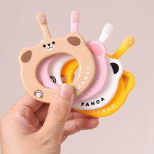 1 шт Детская Мягкая зубная щётка для волос