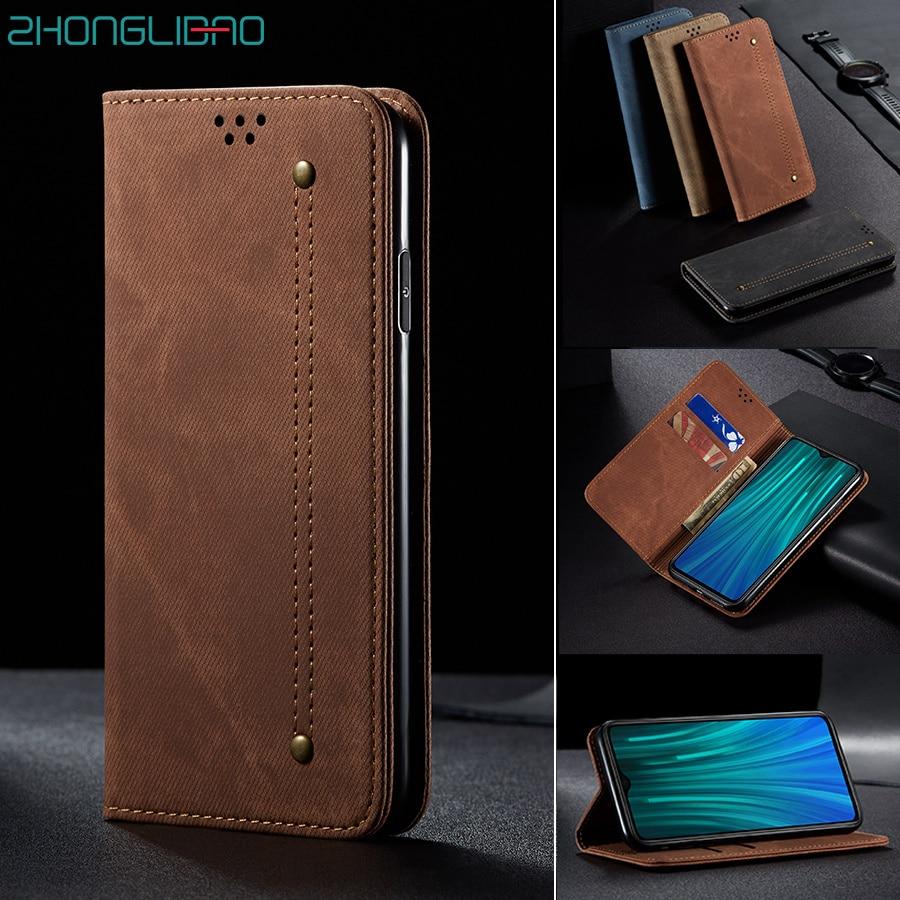 Flip-Case Wallet Note Redmi Xiaomi Magnetic Book-Cover for Mi-10/9/9t Cc9 Pro Cc9e/Redmi/8a-7a/..