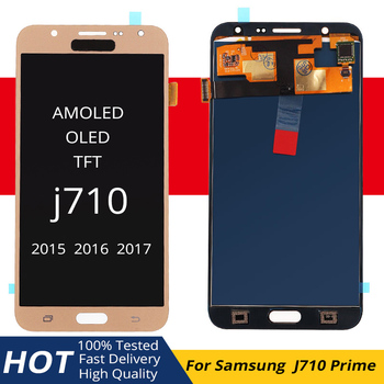 For Samsung Galaxy J7 2016 J710 SM-J710F J710M J710H J710FN LCD Display+Touch Screen AMOLED/ OLED/TFT Digitizer Assembly